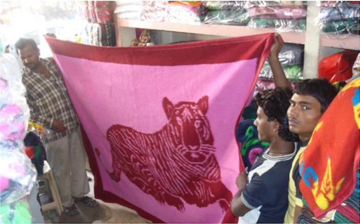 cobertores indianos lucy norris